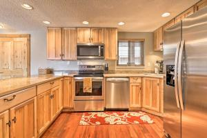A kitchen or kitchenette at Steamboat Ski Getaway w/ Balcony + Mtn Views!