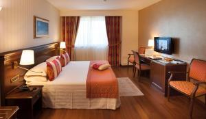 TV o dispositivi per l'intrattenimento presso Hotel Calissano