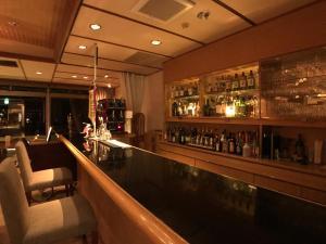 The lounge or bar area at Komatsu-kan Kofu-tei