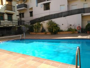 The swimming pool at or near Apartamentos Valle del Guadalquivir