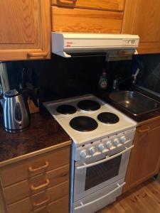 Majoituspaikan Kelola Cottage keittiö tai keittotila