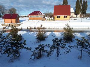 Holiday home Tūjas during the winter