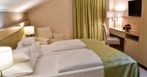 Krevet ili kreveti u jedinici u objektu Hotel Park