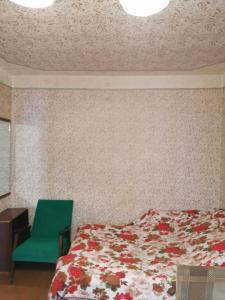 Кровать или кровати в номере Квартира рядом с городским парком