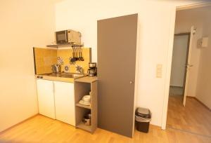 Küche/Küchenzeile in der Unterkunft Ford Apartment