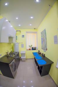 Кухня или мини-кухня в Es Hotels Network St. Petersburg