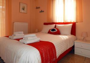 Ένα ή περισσότερα κρεβάτια σε δωμάτιο στο the cruiseflat