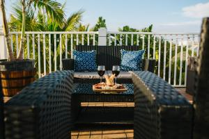 A restaurant or other place to eat at Beach Club at Anna Maria Island by RVA