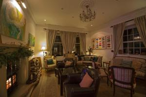The lounge or bar area at The Frenchgate Restaurant & Hotel