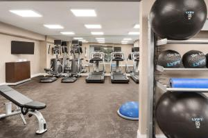 The fitness center and/or fitness facilities at Residence Inn Atlanta Gwinnett Place