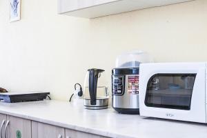 Кухня или мини-кухня в Отель «На Лиговском»