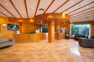 De lobby of receptie bij Hotel Gran Garbi Mar & AquaSplash