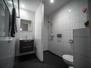 Een badkamer bij B&B bij de 3 linden