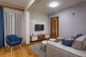 Prostor za sedenje u objektu Vila Borova Zlatibor Apartments
