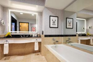 A bathroom at Hyatt Centric Downtown Minneapolis