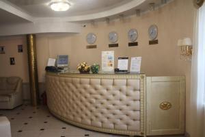 Лобби или стойка регистрации в Отель Акрополис