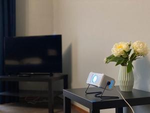 Телевизор и/или развлекательный центр в Zona Komforta