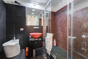 Salle de bains dans l'établissement Colonna Suite Luxury - Pantheon