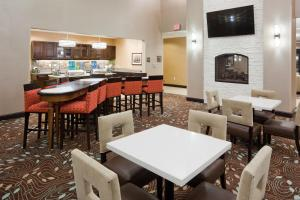 A restaurant or other place to eat at Homewood Suites Davenport