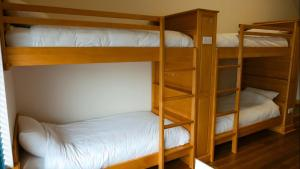 A bunk bed or bunk beds in a room at Ballyhoura Luxury Hostel