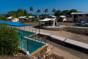 A view of the pool at Hinchinbrook Marine Cove Resort or nearby