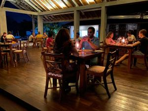 A restaurant or other place to eat at Cloud 9 Boutique Hotel