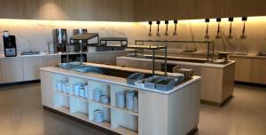 Kjøkken eller kjøkkenkrok på Oslofjord Hotel