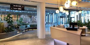 Lobby eller resepsjon på Oslofjord Hotel