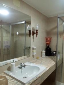Un baño de Casas Las Gaviotas Y Palmito