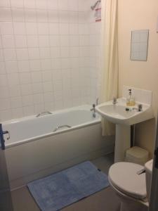 A bathroom at Royal Chambers Liverpool