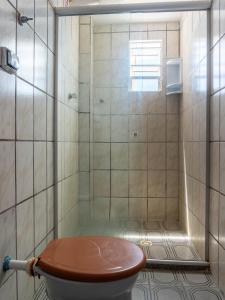 A bathroom at Hotel Colonial Salvador
