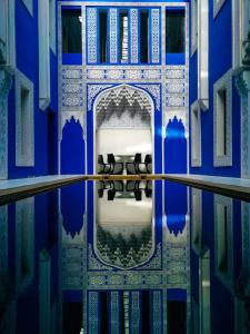 The swimming pool at or near Riad Goloboy