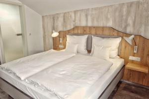 Postel nebo postele na pokoji v ubytování Forsthaus