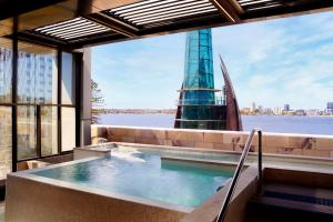 The swimming pool at or close to The Ritz-Carlton, Perth