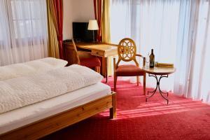 Uma cama ou camas num quarto em Mountain Paradise