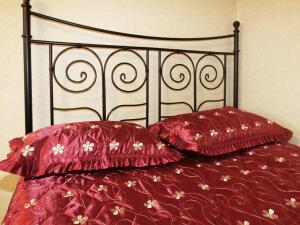 Кровать или кровати в номере ApartLux Останкинская