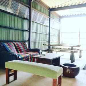 Meguruya GuestHouse on Nakasendo trailにあるシーティングエリア
