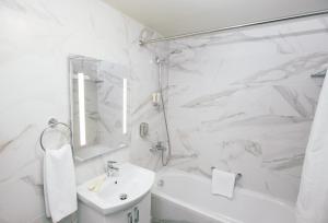 Ванная комната в Апарт-отель Аэлита