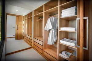 A bunk bed or bunk beds in a room at Jamahkiri Resort & Spa