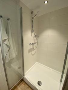 A bathroom at Hotel Nap