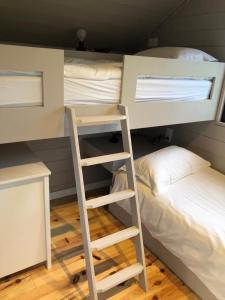 A bunk bed or bunk beds in a room at Domaine La Bonne Etoile