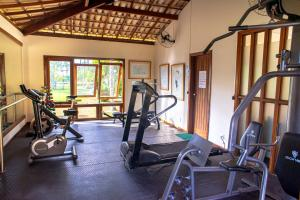 The fitness center and/or fitness facilities at Portobello Praia