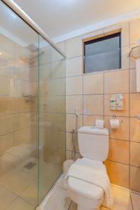 A bathroom at Hotel Mercure Fortaleza Meireles
