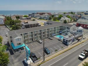 A bird's-eye view of Atlantic Oceanside Dewey Beach Resort