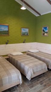 Кровать или кровати в номере Guest House Na Svetloy
