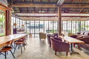 ห้องอาหารหรือที่รับประทานอาหารของ OYO 787 Ngeeb Bed & Breakfast