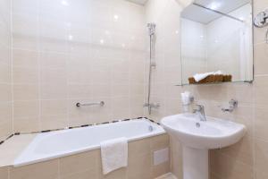 Ванная комната в Отель Бристоль