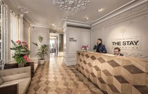 The lobby or reception area at The Stay Bosphorus