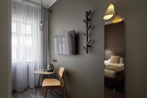 A bathroom at Alda Hotel Reykjavík