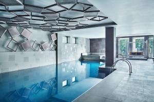 The swimming pool at or near Metropol Palace, a Luxury Collection Hotel, Belgrade